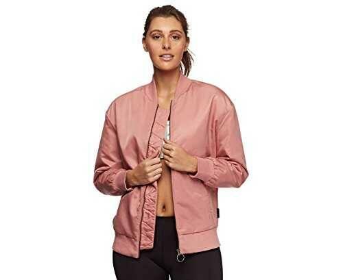 Reebok Favorite Bomber Chaqueta Mujer rosa b06xt3xmyv