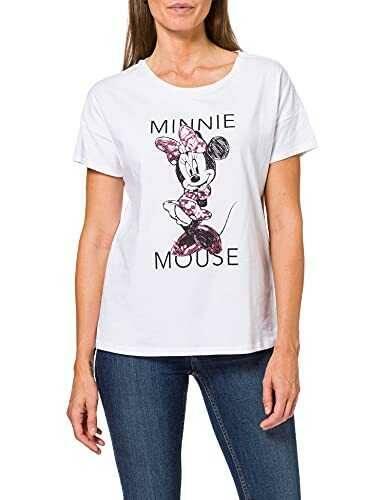 Springfield Camiseta Licencia Minnie Blanco XS b08vwxjkhv