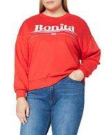 Marca Amazon find. Sudadera Mujer Rojo (Red) 38 b07d1hmgkp