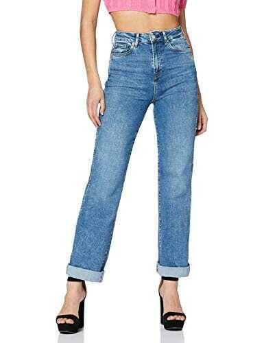 Pepe Jeans Frenzy Vaqueros Straight Azul (Denim b07w36k5gv