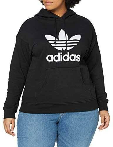 adidas TRF Hoodie Sudadera Mujer Black/White 46 b081tsx7mq