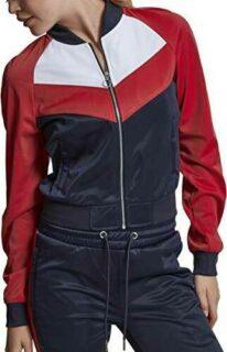 Urban Classics Ladies Short Raglan Track Jacket b0752sdv6n
