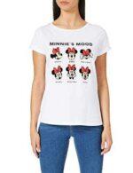 Springfield Camiseta Minnie Moods Blanco XL para b08qkwwwzm