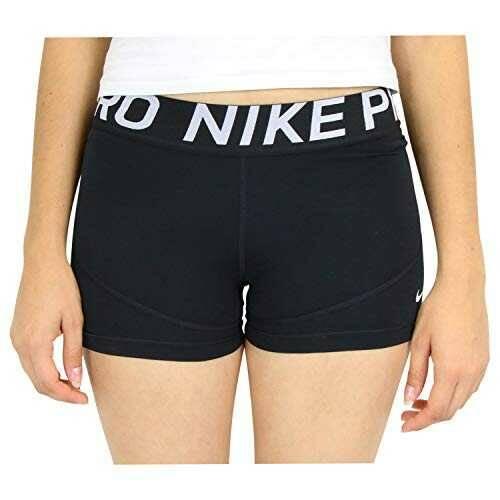 NIKE W NP Shrt 3In Pantalones Cortos Mujer Negro b07fkpzfh9
