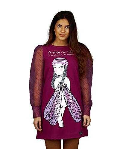 ANABEL LEE Vestido Libelula XS. b08nd6ltrz