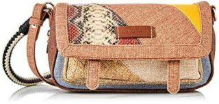 Desigual Fabric Body Bag Bolsa para Cuerpo de Across b08cn2bhg8