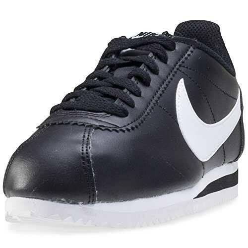 Nike Classic Cortez Leather Zapatillas Mujer Negro b01ca1wj7i