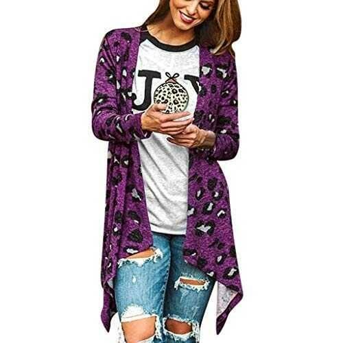 Chaleco sin Mangas Cardigan para Mujer Abrigo b0819bcrl3