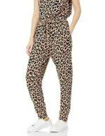 The Drop Pantalón para Mujer Wendy Jogger Drapeado b08t8p5b88