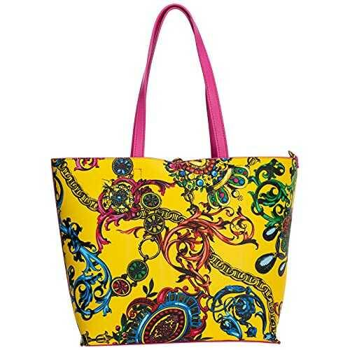 Versace Jeans Couture mujer bolso shopping giallo b09b7cfthy