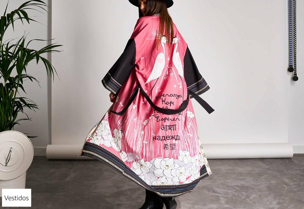 Vestidos y Kimonos de Moda Mujer