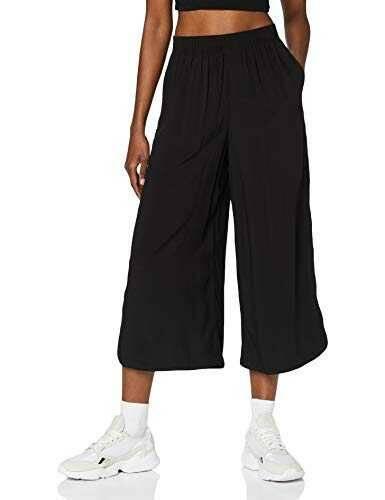 Urban Classics Ladies Wide Viscose Culotte Pantaln b085wh8clf