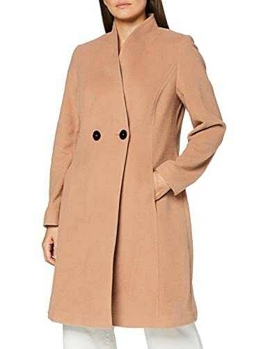 Daniel Hechter Wool Coat Abrigo Beige (Camel 430) 40 b07p3cj8m9