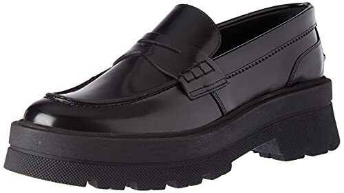 BOSS Denory Moccasin BR Loafer Mocasín para Mujer b08t25n285