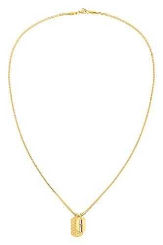 Tommy Hilfiger Collar Mujer chapado en oro No b084h5slf1