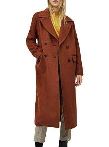 Pepe Jeans Abrigo Mara Camel para Mujer L b08n3cn3lc