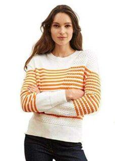 Saint James Breton Jersey de algodón para mujer b08zh4t6pt