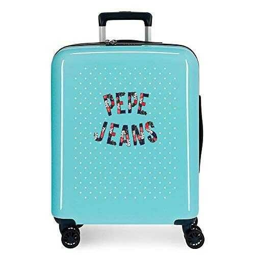 Pepe Jeans Emory Maleta de Cabina Azul 40x55x20 cms b085h2g83l