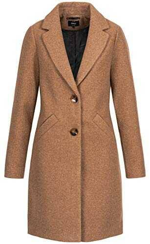 Only ONLVERONICA Coat OTW Abrigo Braun (Camel b07wjqdzm2