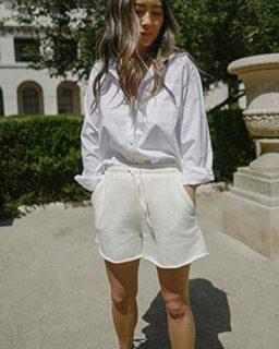 The Drop Pantalones para Mujer Cortos con b091czdnpg