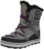 Sorel Glacy Explorer Shortie Botas Mujer Gris b07741p3q5
