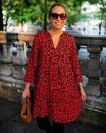 The Drop Vestido para Mujer Suelto de Corte b08j935ry4