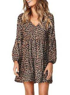 Dokotoo Vestido informal para mujer con estampado b08sc61c42