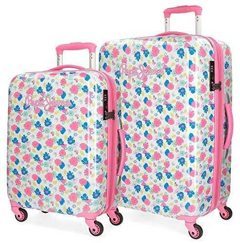 Pepe Jeans Kasandra Juego de maletas Multicolor b079lgfbzm