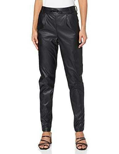 Only ONLPOPTRASH Faux Leather Pant PNT Tall Pantaln b08k9c8cgm