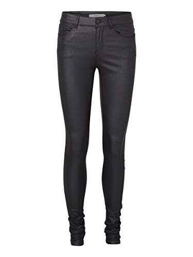 Vero Moda Vmseven NW SS Smooth Coated Pants Noos b01msph7co