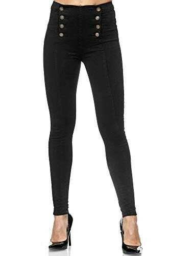elara Jeans Mujer Skinny Fit Cintura Alta b08h5hqw3k