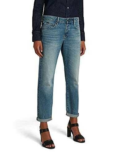 G-STAR RAW Kate Boyfriend C Jeans Faded Tide b08ksbfn74
