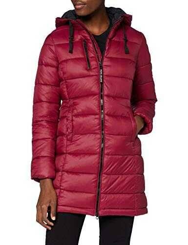 Pepe Jeans Linna Abrigo Rojo (287) Large para Mujer b08483xwdd