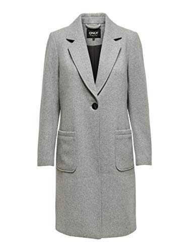 Only Onlolivia-Astrid Wool Coat Otw Abrigo de b08d5zpjpc