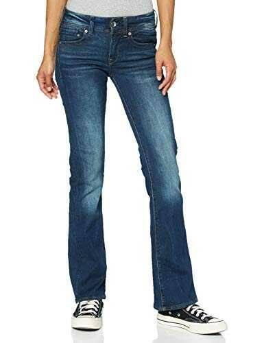 G-Star Raw Midge Saddle Mid Waist Bootcut Jeans Blau b01bgtrq6o