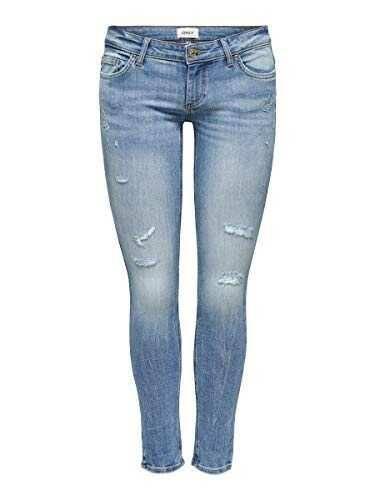 Only Onlcoral SL Skinny DEST BB Amom-45 Noos Jeans b084pt8dbl