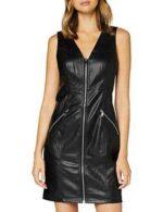 Only Onlsarah Faux Leather Dress Otw Vestido Negro M b089yv5y7b