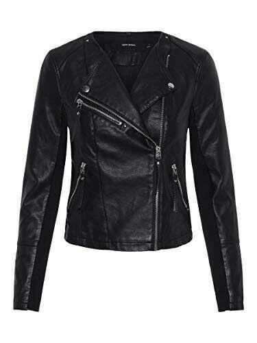 Vero Moda Vmria FAV Short Faux Leather Jacket Noos b07l8kfv2h