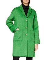 Gant D1. Melange Handstitched Coat Chaqueta Verde M b086ww2lxy