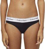 Calvin Klein String – Modern Cotton Bragas Negro b00k8j8j56